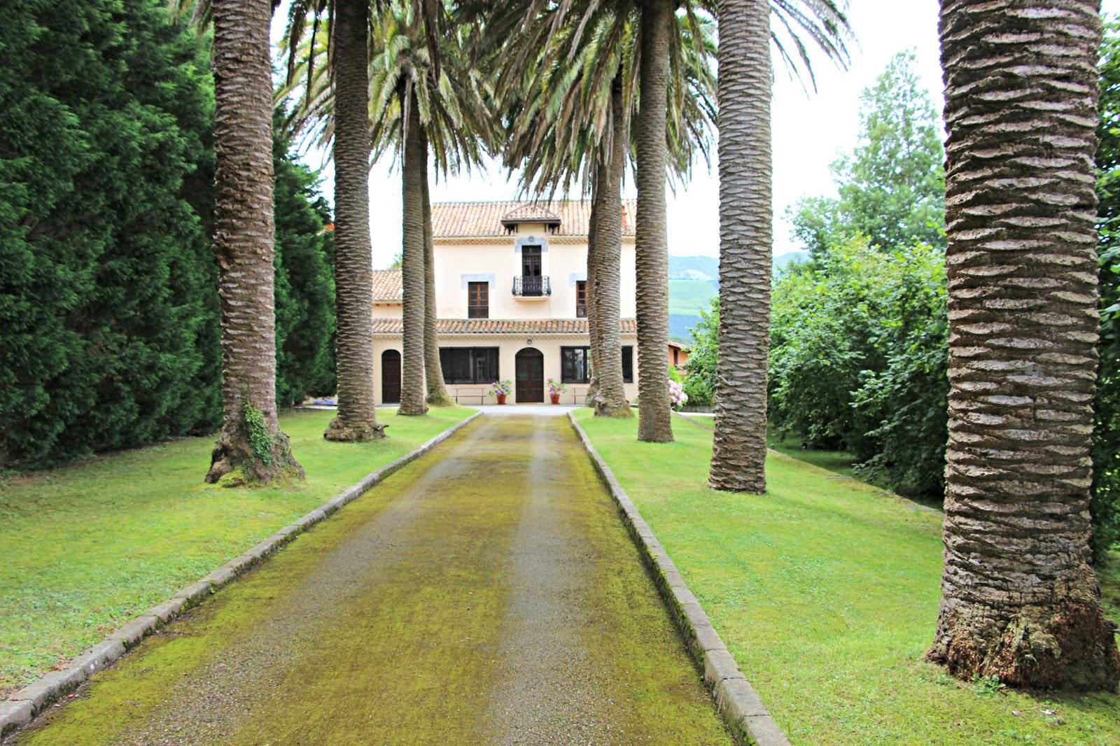 Las im genes que yo veo casas de indianos el lujo en - La casa de las palmeras ...
