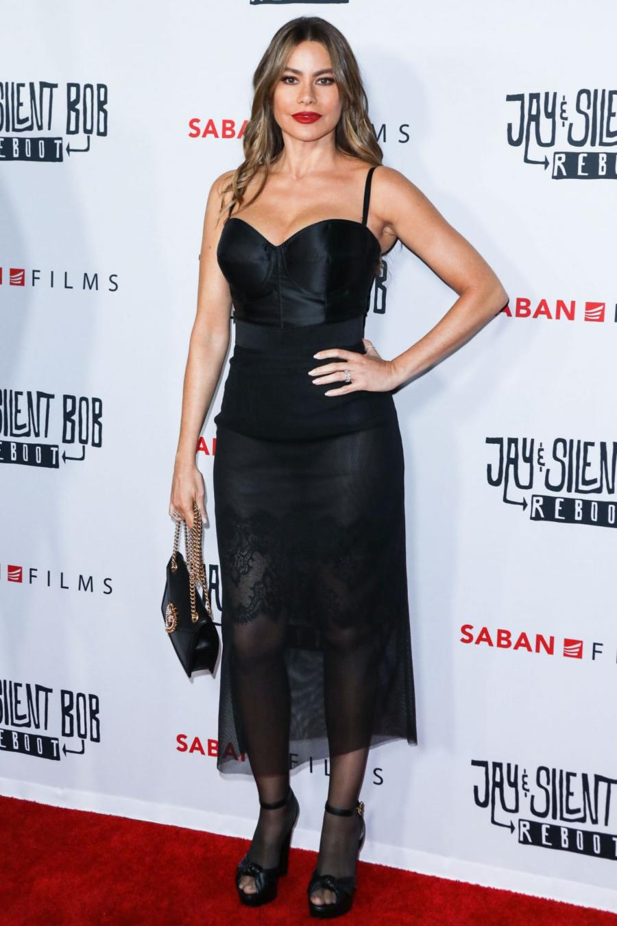 Sofia Vergara at Jay & Silent Bob Reboot Premiere in Hollywood