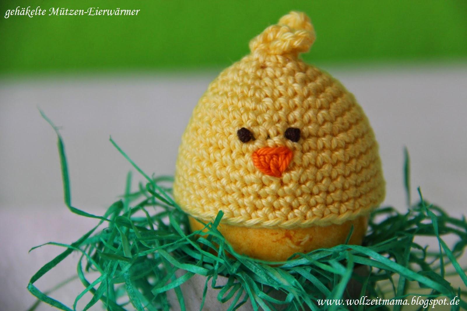 Wollzeitmama Gehäkelte Mützen Eierwärmer