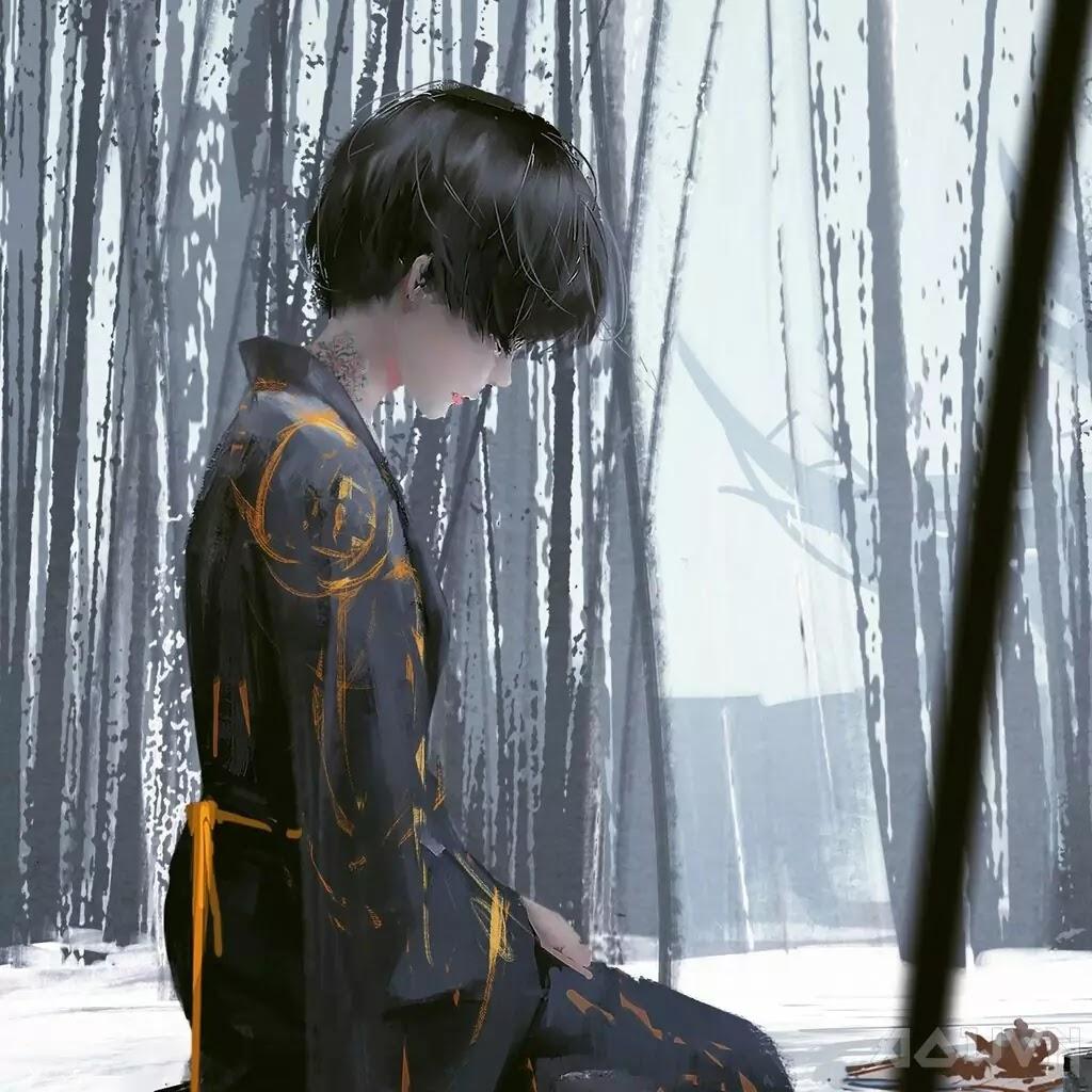 28 AowVN.org m - [ Hình Nền ] Anime Cực Đẹp by Wlop | Wallpaper Premium / Update