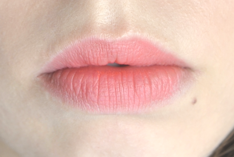 Korean Lipstick Espoir No Wear S Jealousy Coral Makeup Swatch Detail Photography Pastel Punch