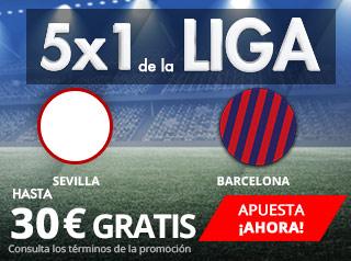 suertia promocion Sevilla vs Barcelona 31 marzo
