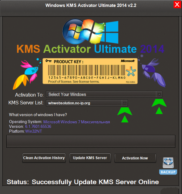 KMS Activator Ultimate 2014 v2.2 Portable