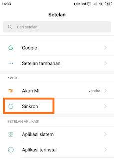 Cara Keluar Gmail dari Android