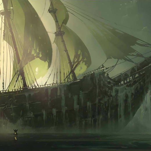 Pirate Ship Wallpaper Engine