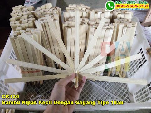 Jual Bambu Kipas Kecil Dengan Gagang Tipe 18an