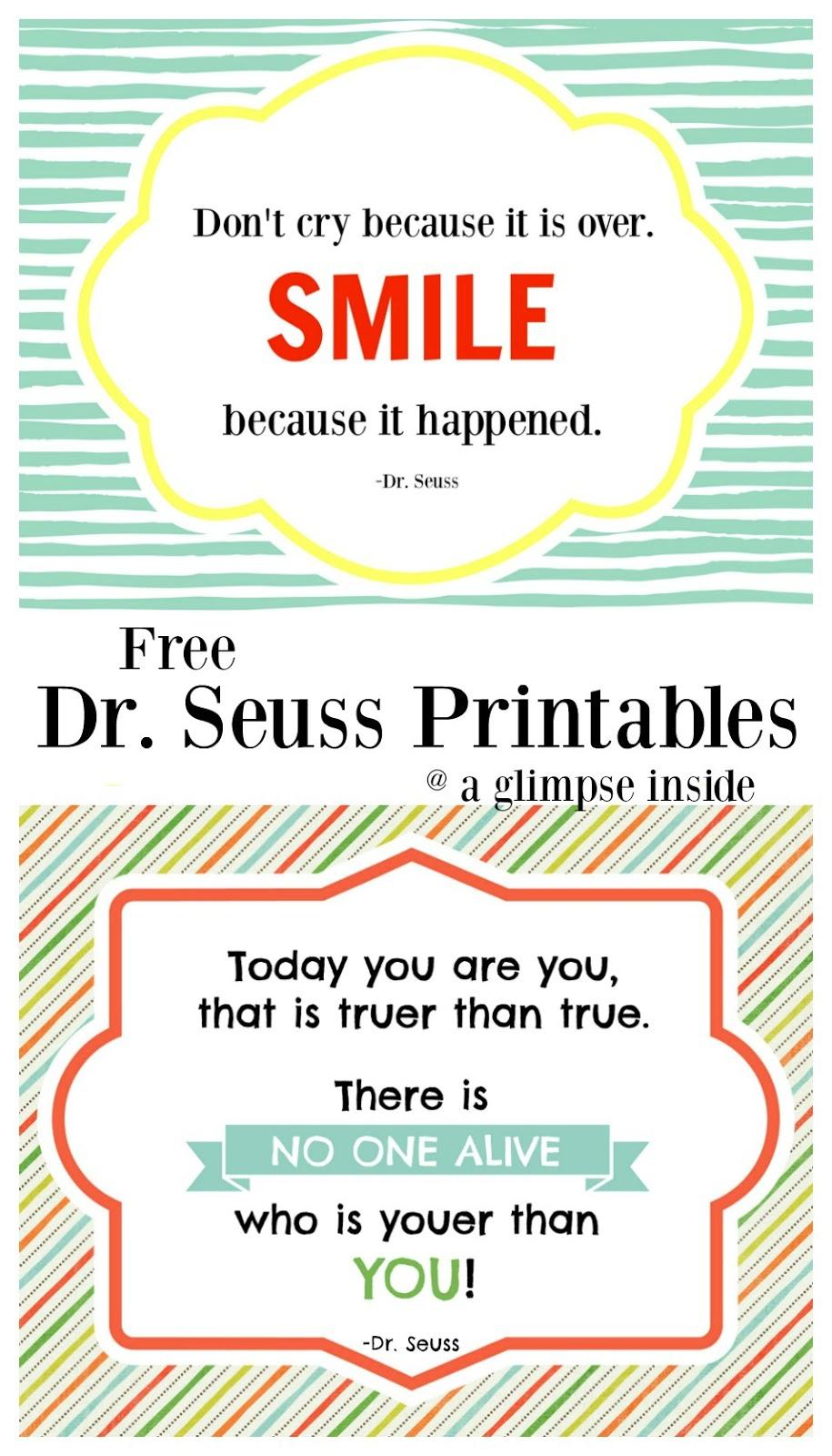 http://www.aglimpseinsideblog.com/2016/03/dr-seuss-printables.html
