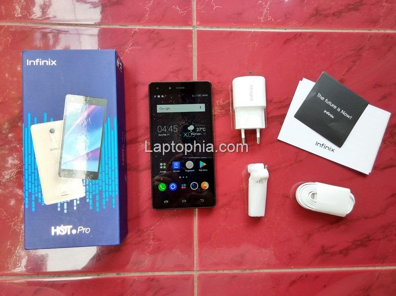 Paket Pembelian Infinix Hot 4 Pro X556