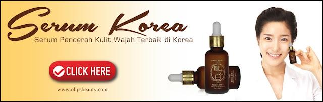 Serum Korea New Formula 100% Original Pencerah Kulit Wajah