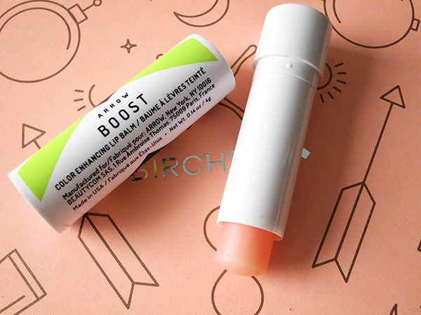 February 2016 Birchbox Arrow Boost Color Enhancing Lip Balm