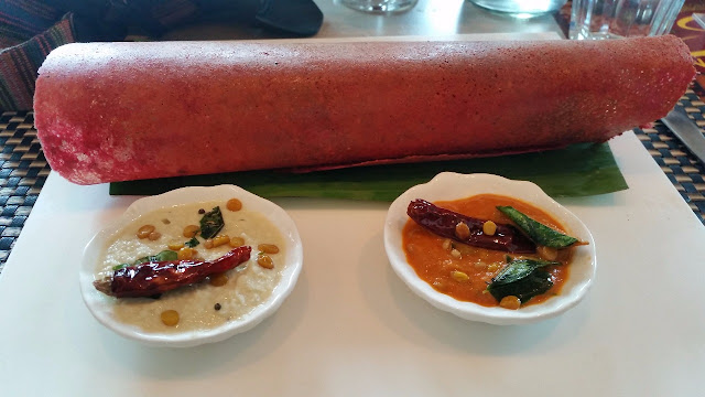 Beetroot Dosa