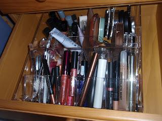 Organizador maquillaje Ikea