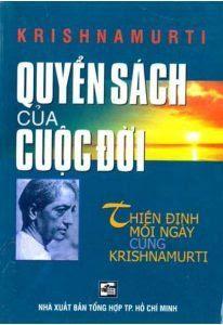 Quyển Sách Của Cuộc Đời - Krishnamurti