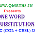One word Substitution asked in SSC CGL & CHSL 2016 Examinations
