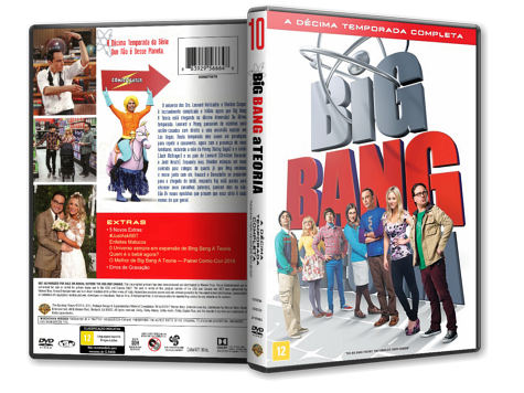 Capa DVD Big Bang: A Teoria - 10ª Temporada [Custom]