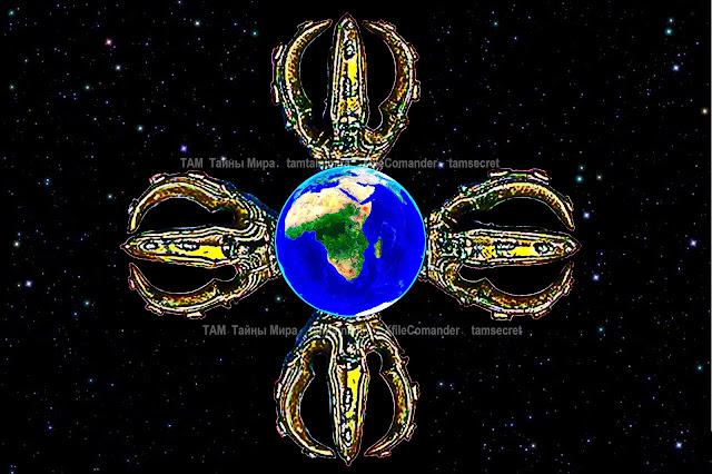 Где расположен Логос или центральный кристалл управления планетой Земля