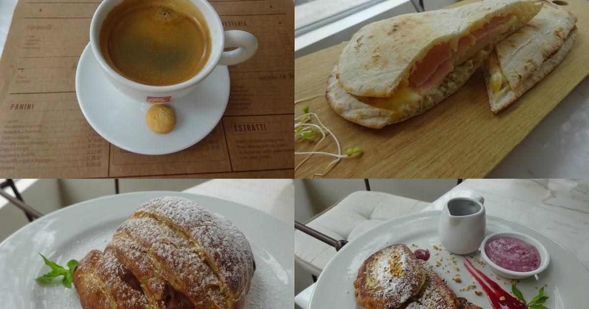 Mi Amore Cafe Menu