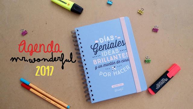 Dreams of love review agenda mr wonderful 2017 for Agendas 2017 mr wonderful