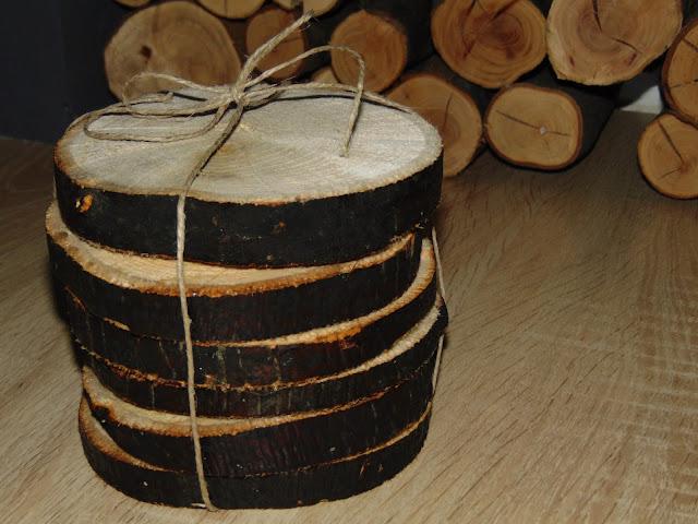 DIY drewniane podkładki