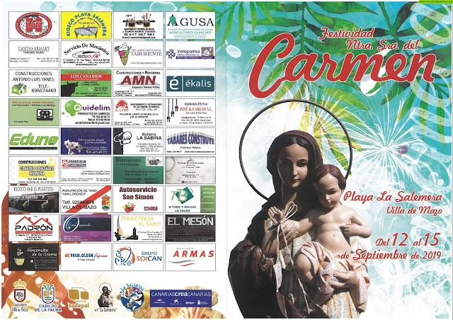 Festividad de Ntra. Sra. del Carmen en La Salemera 2019