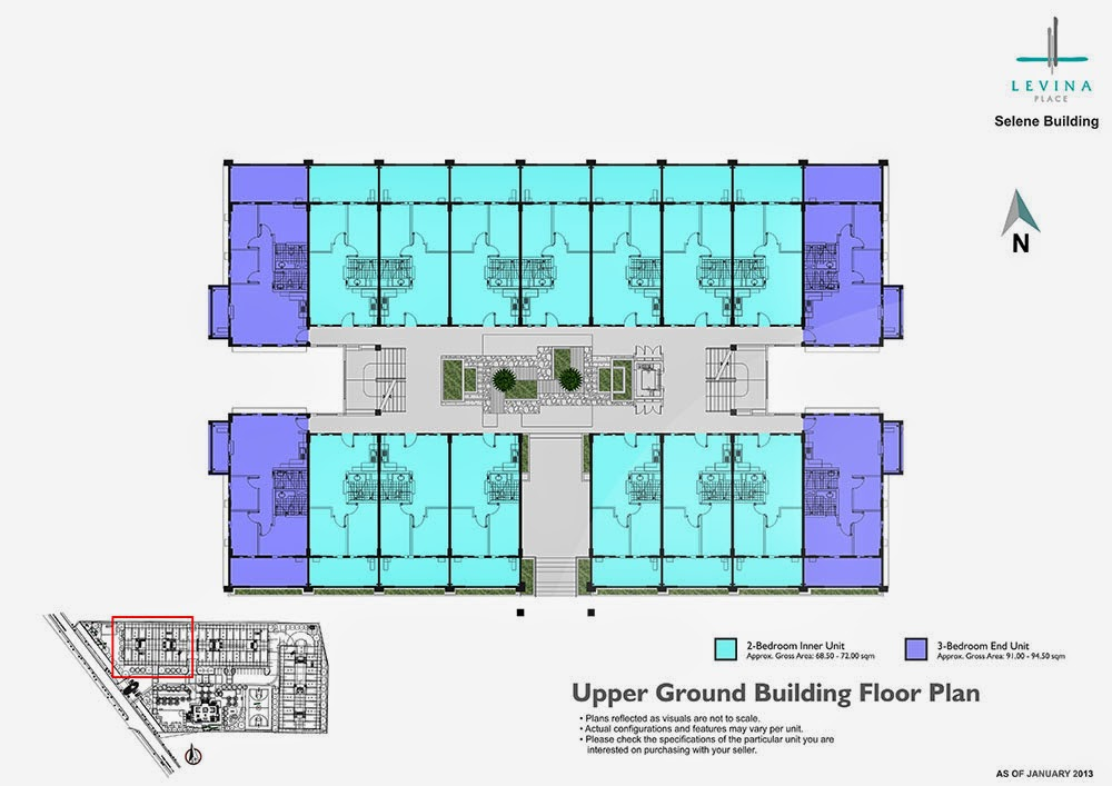 Levina Place Ground Floor Plan