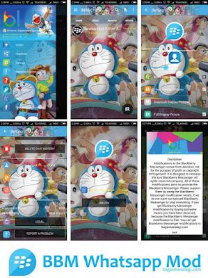 Download BBM Whatsapp Doraemon V2.11.0.16 Apk Clone Terbaru