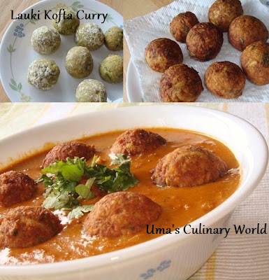 Dudhi Kofta Curry