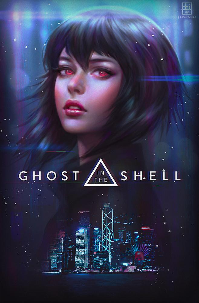 Geek Art Gallery Fan Art Round Up Ghost In The Shell Pt 1
