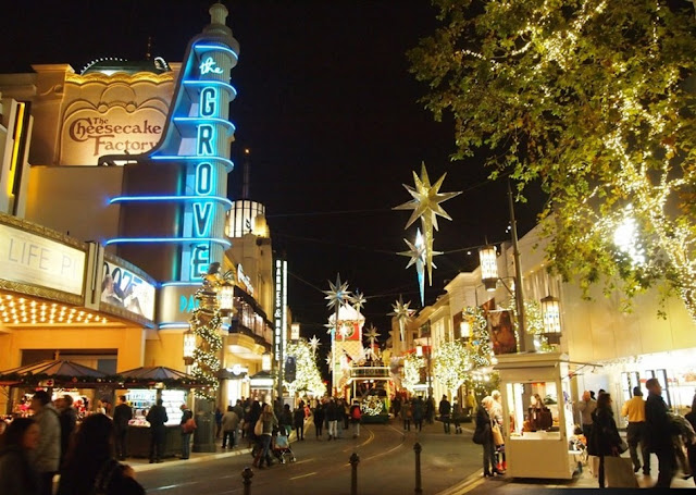 Shopping The Grove Mall em Los Angeles