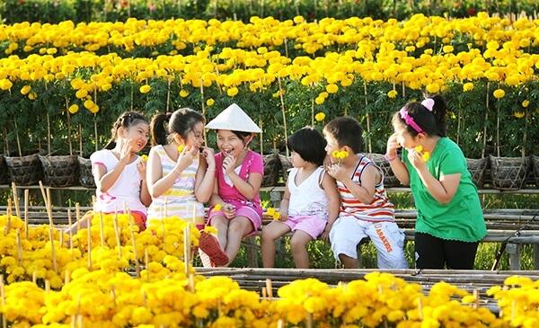 Môi trường phát triển bền vững cho con em bạn tại Lộc Ninh.