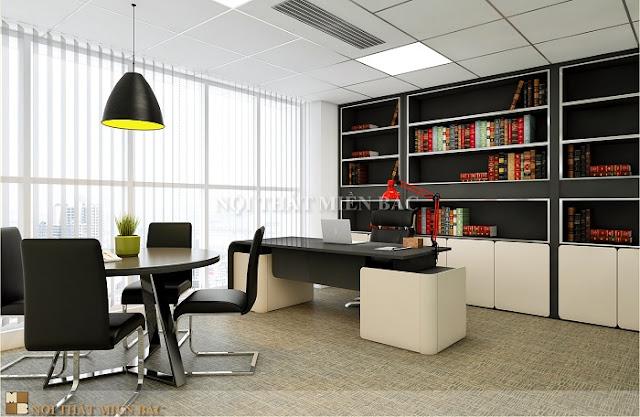 Thiết kế tủ tài liệu giám đốc sang trọng bề thế, kiểu dáng hiện đại, kích thước lớn vẫn luôn là sự lựa chọn của nhiều giám đốc hiện na