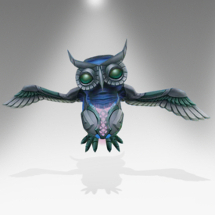 Cheerful Tinsel Owl - Pirate101 Hybrid Pet Guide