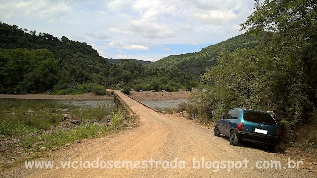 Ponte sobre o Rio das Antas, entre Bento Gonçalves e Cotiporã