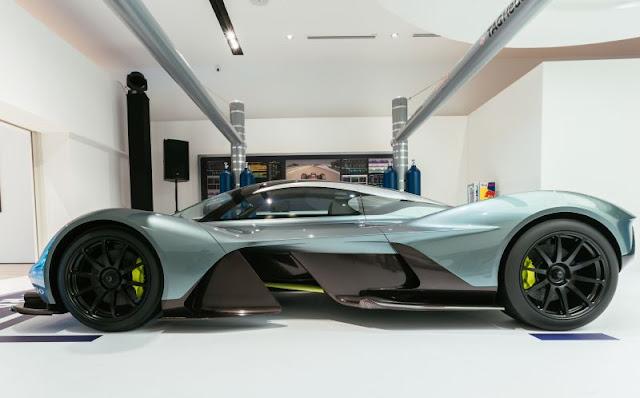 Aston Martin Hypercar AM-RB 001 Getting V12 Cosworth Engine