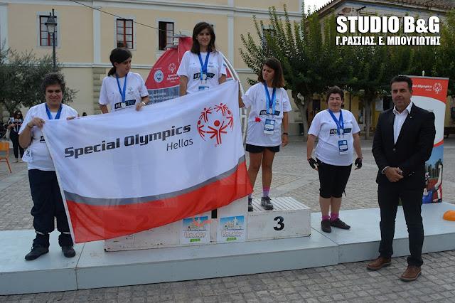 Με επιτυχία και χαμόγελα ολοκληρώθηκαν οι ποδηλατικοί αγώνες των Special Olympics στο Ναύπλιο
