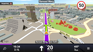 download aplikasi play store GPS Navigation & Maps Sygic