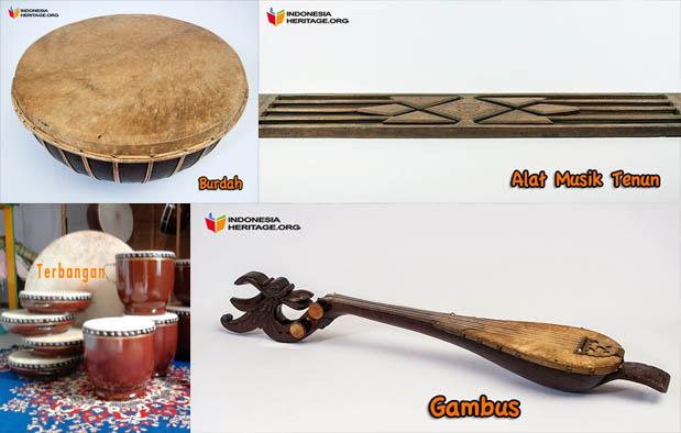 Alat Musik Tradisional Sumatera Selatan (Palembang)