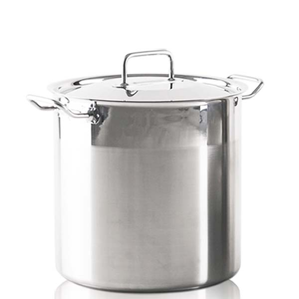 OX-175 SP 32 - HORECA Oxone Stock Pot 32cm- Stainless