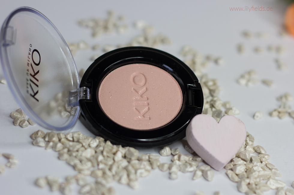 Foto zeigt Kiko Eyeshadow 140 Macropearly Powder Pink