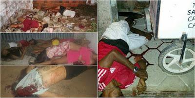 Resultado de imagem para Fotos da chacina em Fortaleza