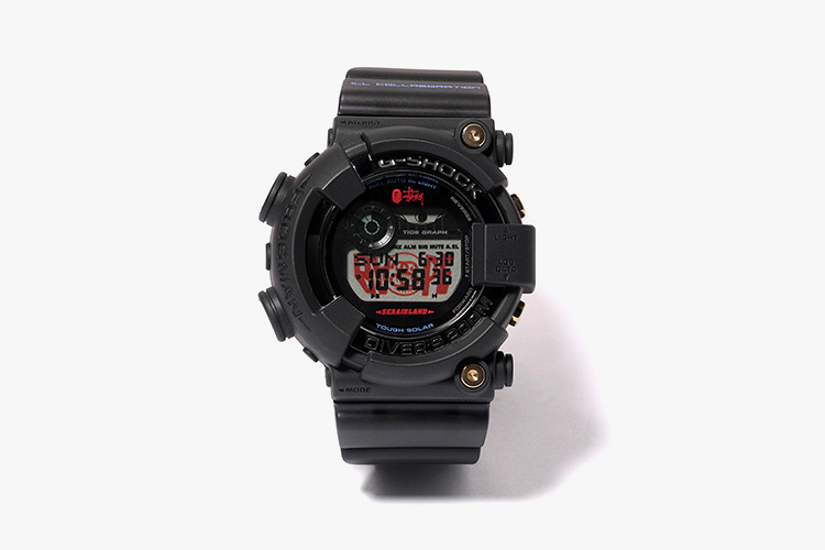 a464266a7208 Stussy x A Bathing Ape x Casio G-Shock Frogman Collection ...