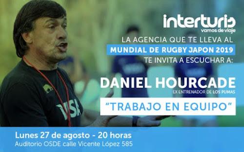 Daniel Hourcade brindará una charla en Salta