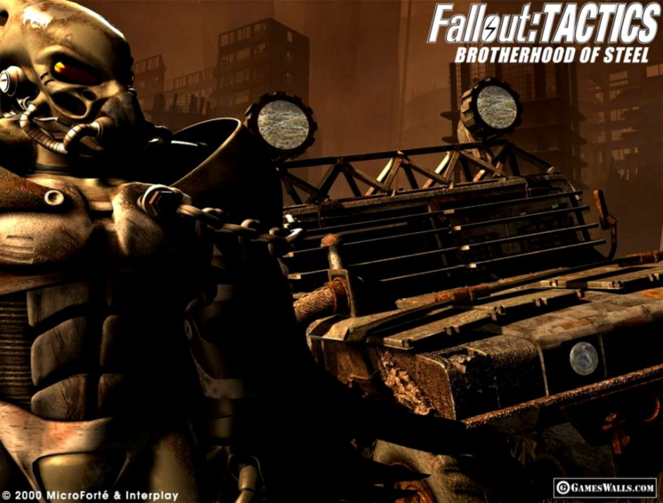 Fallout Tactics Brotherhood Of Steel Wallpaper Hd | Just