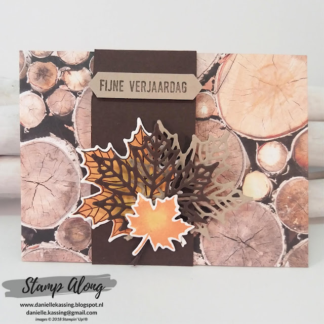 Stampin' Up! Giftcardholder Wood Textures