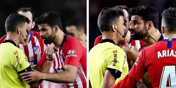 Diego Costa Banned For Eight Games For Abusing Referee's Mother