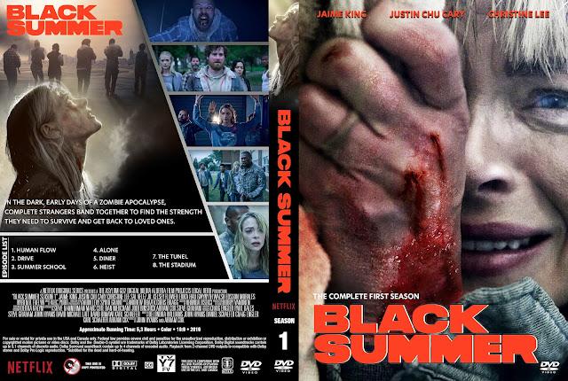 Black Summer Season 1 DVD Cover