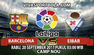 Prediksi Barcelona vs Eibar 20 September 2017