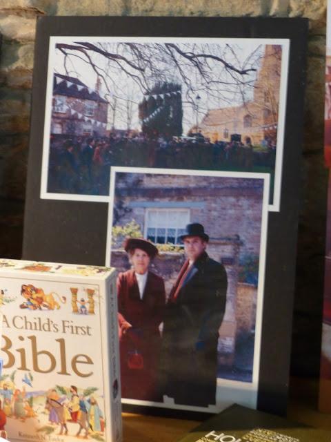 Bampton lieux de tournage Downton Abbey