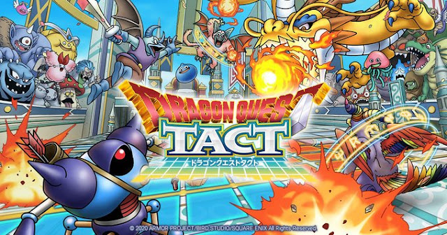 Dragon Quest Tact Announced for Smartphones in Japan