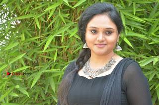 Actress Kala Kalyani Stills in Black Salwar Kameez at Engeyum Naan Iruppen Audio Launch  0014.jpg